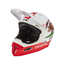ONeal Fury RL Helmet California white/red